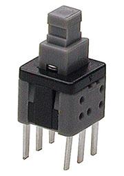 MPS-580ND-G, кнопка без фиксации 5.8мм 30В 0.1А (PS580N)