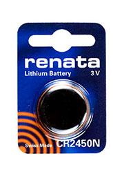 CR2450N, батарейка 3В, BC1, дисковая литий, 1 шт.