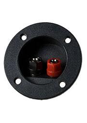 CH1-0409A, клеммник винтовой 2конт. кругл. 75мм
