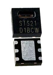 STS21, датчик температуры, +-0,2%, I2C, -40 +125