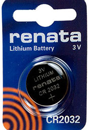 CR2032, батарейка 3В, дисковая  литий, 1 шт.