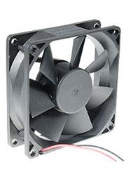 JF0825B1UR-R, вентилятор 12В 80х80х25мм подшипник качения 4000об/мин