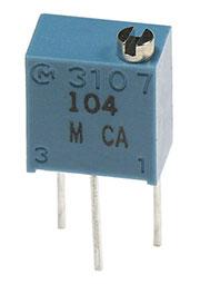 PV37W203C01B00, (СП5-2ВБ)  20 кОм (аналог 3266W-1-203)