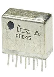 РПС45  РС4.520.755-03, реле поляризованное (6в)