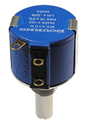 3540S-1-102L, 1 кОм прецизионный многооборотный резистор
