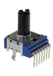 RK-1412G-A5K,L-20F, переменный резистор 2х 5 кОм