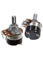 24S1-B10K,L20KC, переменный резистор с выкл.10кОм