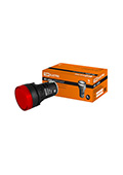 SQ0702-0002, AD-22DS(LED), лампа d22мм красная 230В