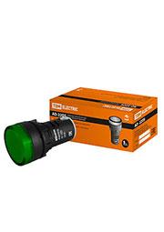 SQ0702-0004, AD-22DS(LED), лампа d22мм зеленая 230В