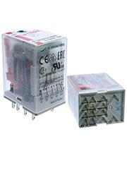 R4N-2314-23-1024-WTD, Реле 24VDC 4 Form C 250VAC/7А