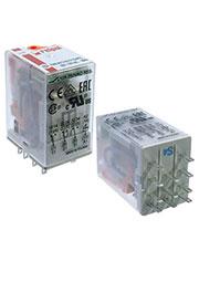 R2N-2012-23-1110-WTLD, Реле 110VDC 2 Form C 250VAC/12А