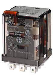 62.33.9.220.0040, Реле 220VDC 3 Form C  16А