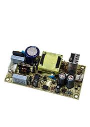 EPS-15-12, AC-DC, 15Вт, мощность без нагрузки  0.3Вт, вход 85?264V AC, 47?63Гц /120?370В DC