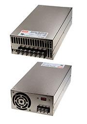 SE-600-24, AC-DC, 600Вт, вход 180...264VAC, 47...63Гц / 254...370VDC, , выход 24В/0 25A, рег. вых=-5