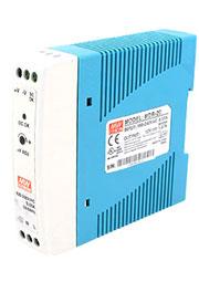 MDR-20-24, AC-DC, 24Вт, вход 85 264V AC, 47 63Гц /120 370В DC, выход 24В/0 1A, рег. вых= 10%Uном,  и