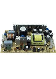 PT-65A, AC-DC, 65Вт, вход 85 264V AC, 47 440Гц /120 370В DC, выход1: +5В/0.4 7A, выход2: +12В/0.2 3.