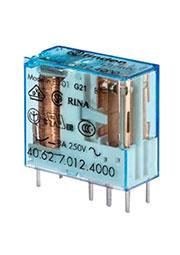 40.62.7.012.0000, Реле 12VDC 2 Form C  10А